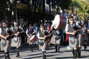 Massy Parade on the march